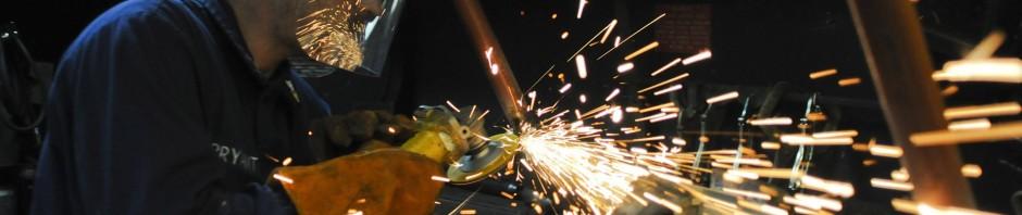 metal fabrication singapore grinding